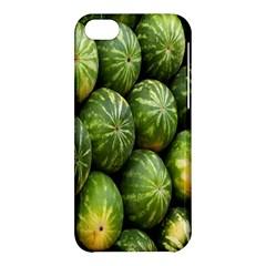 Food Summer Pattern Green Watermelon Apple iPhone 5C Hardshell Case