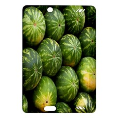 Food Summer Pattern Green Watermelon Amazon Kindle Fire HD (2013) Hardshell Case