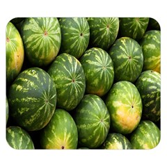 Food Summer Pattern Green Watermelon Double Sided Flano Blanket (small)