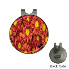 Flowers Nature Plants Autumn Affix Hat Clips with Golf Markers