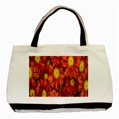 Flowers Nature Plants Autumn Affix Basic Tote Bag