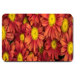 Flowers Nature Plants Autumn Affix Large Doormat