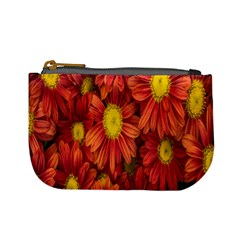 Flowers Nature Plants Autumn Affix Mini Coin Purses