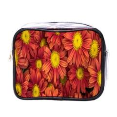 Flowers Nature Plants Autumn Affix Mini Toiletries Bags
