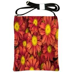 Flowers Nature Plants Autumn Affix Shoulder Sling Bags