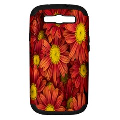 Flowers Nature Plants Autumn Affix Samsung Galaxy S III Hardshell Case (PC+Silicone)