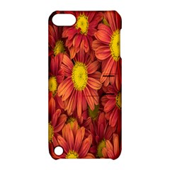 Flowers Nature Plants Autumn Affix Apple iPod Touch 5 Hardshell Case with Stand