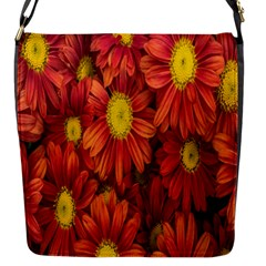 Flowers Nature Plants Autumn Affix Flap Messenger Bag (s)
