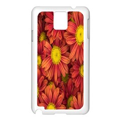 Flowers Nature Plants Autumn Affix Samsung Galaxy Note 3 N9005 Case (white)