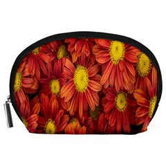 Flowers Nature Plants Autumn Affix Accessory Pouches (Large)