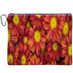 Flowers Nature Plants Autumn Affix Canvas Cosmetic Bag (XXXL)
