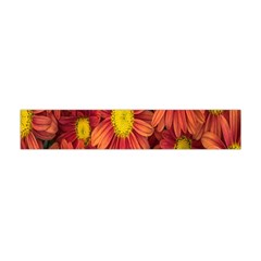 Flowers Nature Plants Autumn Affix Flano Scarf (Mini)