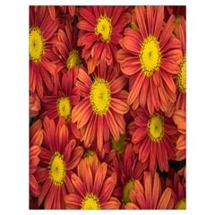 Flowers Nature Plants Autumn Affix Drawstring Bag (large)