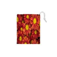 Flowers Nature Plants Autumn Affix Drawstring Pouches (XS)