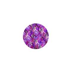 Flowers Abstract Digital Art 1  Mini Buttons