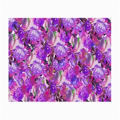 Flowers Abstract Digital Art Small Glasses Cloth