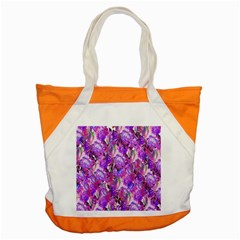 Flowers Abstract Digital Art Accent Tote Bag