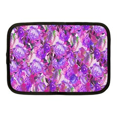 Flowers Abstract Digital Art Netbook Case (Medium)