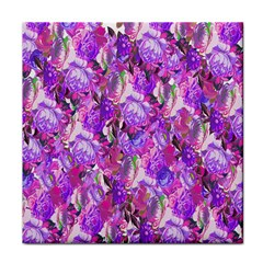 Flowers Abstract Digital Art Face Towel