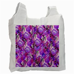 Flowers Abstract Digital Art Recycle Bag (Two Side)
