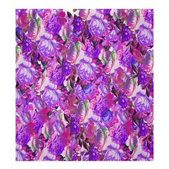 Flowers Abstract Digital Art Shower Curtain 66  X 72  (large)