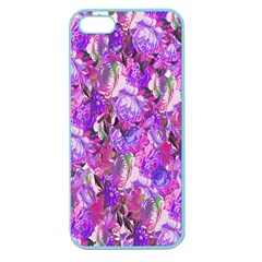 Flowers Abstract Digital Art Apple Seamless iPhone 5 Case (Color)