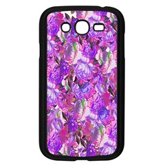 Flowers Abstract Digital Art Samsung Galaxy Grand DUOS I9082 Case (Black)