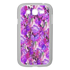 Flowers Abstract Digital Art Samsung Galaxy Grand DUOS I9082 Case (White)
