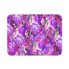 Flowers Abstract Digital Art Double Sided Flano Blanket (mini)