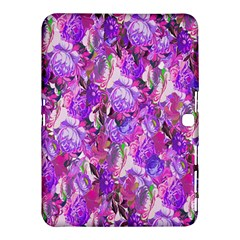 Flowers Abstract Digital Art Samsung Galaxy Tab 4 (10.1 ) Hardshell Case