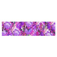 Flowers Abstract Digital Art Satin Scarf (oblong)