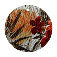 Fall Colors Ornament (Round)
