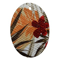 Fall Colors Ornament (Oval)