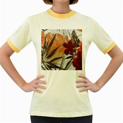 Fall Colors Women s Fitted Ringer T-Shirts