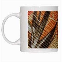 Fall Colors White Mugs