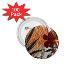 Fall Colors 1.75  Buttons (100 pack)