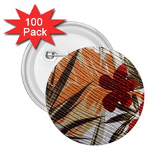 Fall Colors 2.25  Buttons (100 pack)