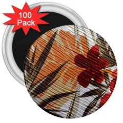 Fall Colors 3  Magnets (100 pack)