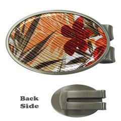 Fall Colors Money Clips (Oval)