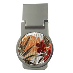 Fall Colors Money Clips (Round)