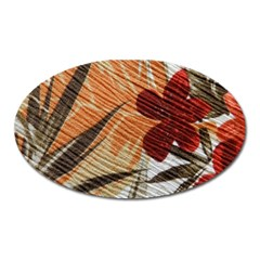 Fall Colors Oval Magnet