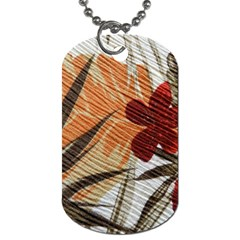 Fall Colors Dog Tag (One Side)