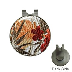 Fall Colors Hat Clips With Golf Markers