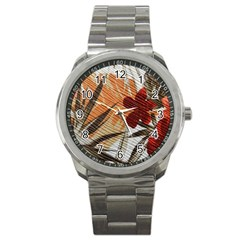 Fall Colors Sport Metal Watch