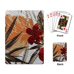 Fall Colors Playing Card