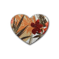 Fall Colors Heart Coaster (4 pack)