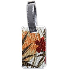 Fall Colors Luggage Tags (One Side)