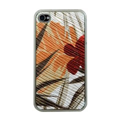 Fall Colors Apple iPhone 4 Case (Clear)