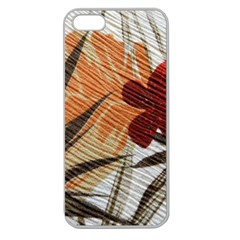 Fall Colors Apple Seamless iPhone 5 Case (Clear)