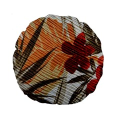 Fall Colors Standard 15  Premium Round Cushions